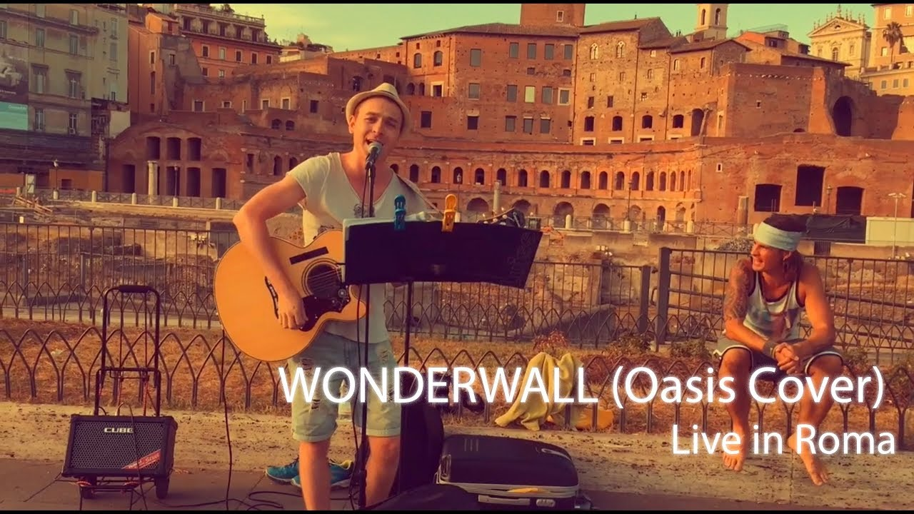 Иван Радьков - Wonderwall (Oasis Cover) Live in Roma