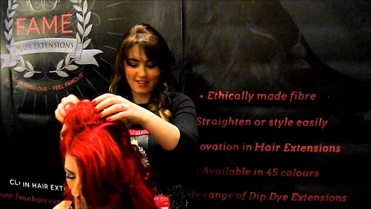 Fame Hair At Salon 2013 Youtube