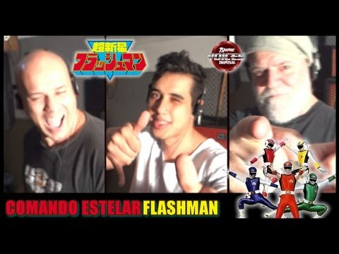 Flashman - Abertura em Português (BR) - Anime Voices Brasil