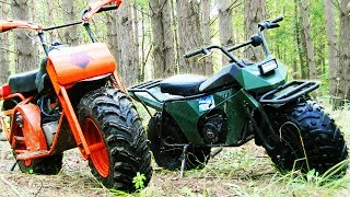 2x2 motorbikes or enduro? Hard battle!