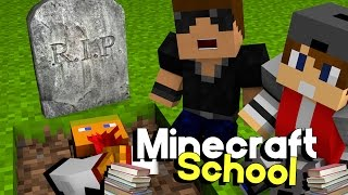 the funeral   minecraft school s3 ep 7 minecraft roleplay adventure