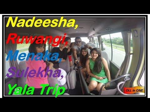 Nadeesha,Ruwangi,Menaka,Sulekha Goes To Yala Tripනදීෂා එක්ක රුවන්ගි, මේනකා, සුලේකා ගියා යාලේ