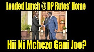 Lunch For Raila And Uhuru At DP Rutos' Home: What It Means