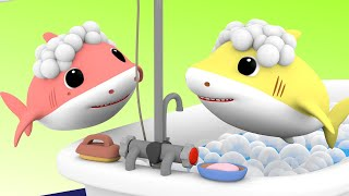 Baby Shark Bath Song   Baby Shark Family Nursery Rhymes & Kids Songs