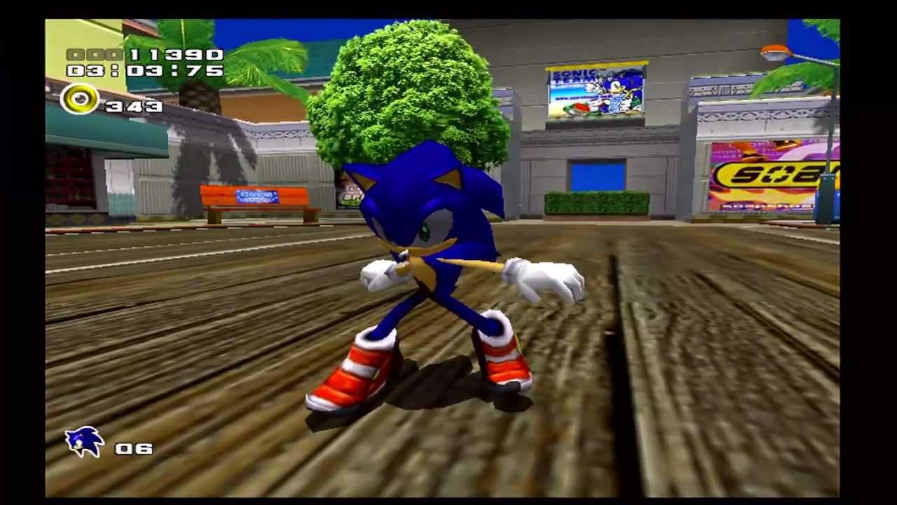 Sonic Adventure 2 City Escape Sega Dreamcast Youtube