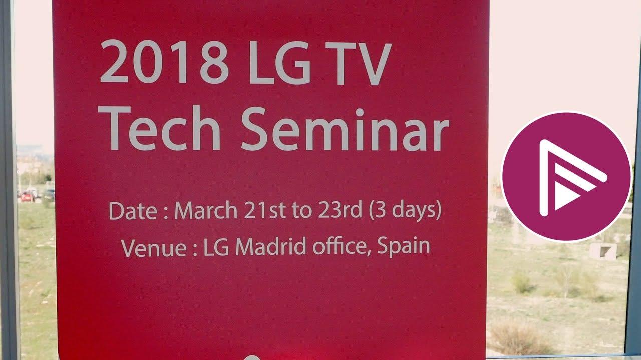 NEWS: LG demo OLED and SUPER UHD 2018 TVs | Page 4 | AVForums