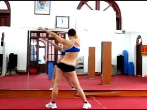 Aerobic beginner thể dục thẩm mỹ giảm béo, giảm mỡ bụng 14p: Phối hợp