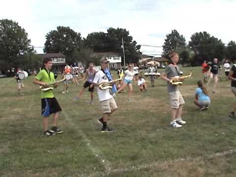 Steinert Marching Unit - Band Camp