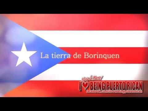 Himno Nacional De Puerto Rico - La Borinquena