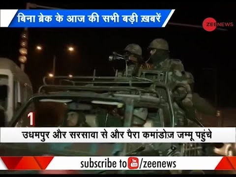 Morning Breaking: Sunjwan terror attack: 3 terrorists gunned down, operation underway