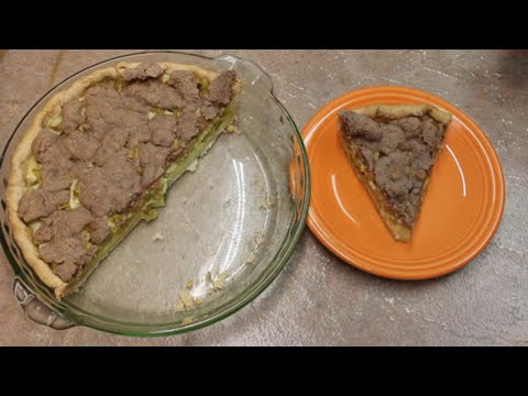 Rhubarb Pie with Michael's Home Cooking