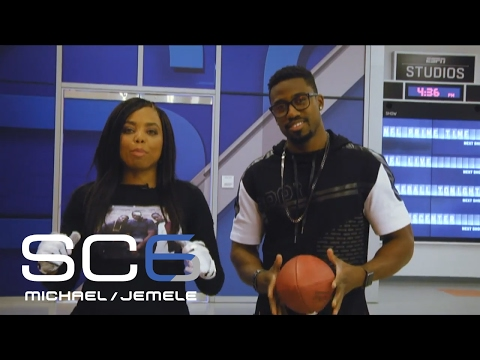 Jemele Hill Fields Punts From Raiders Punter Marquette King | SC6 | February 9, 2017