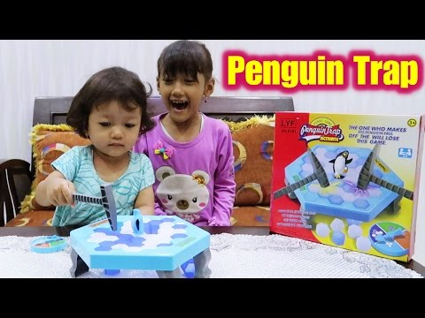 Bermain Penguin Trap Activate, Save The Penguin Games