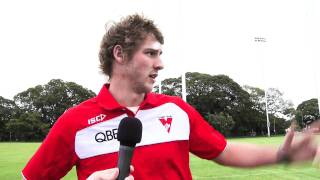 SwansTV: My Pres-season with Alex johnson YouTube Videos