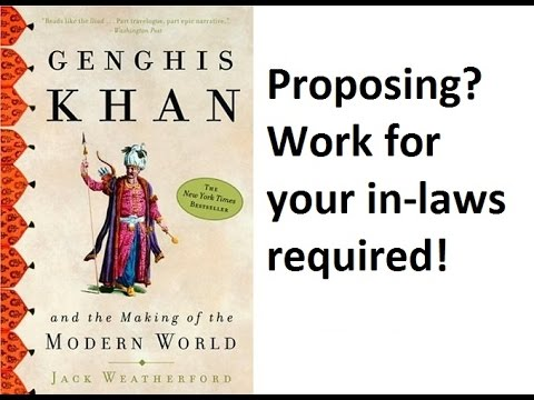 Genghis Khan P2: Smell, Courtship, In-law Service, Christianity