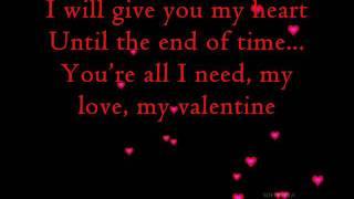 My Valentine (with Lyrics)