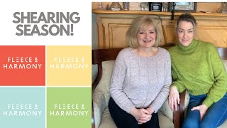 Fleece & Harmony Knitting Podcast Ep. 70 - Shearing 2021 and Softyak DK Review