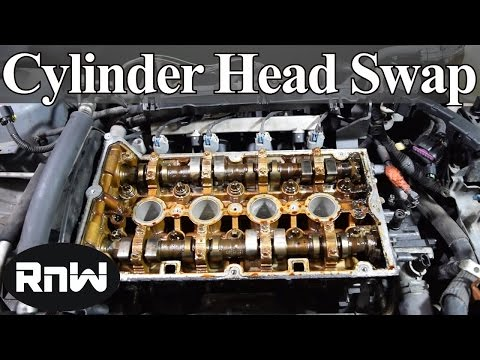 How to Remove and Replace a Cylinder Head and Gasket on a 4 Cylinder Engine - Part I