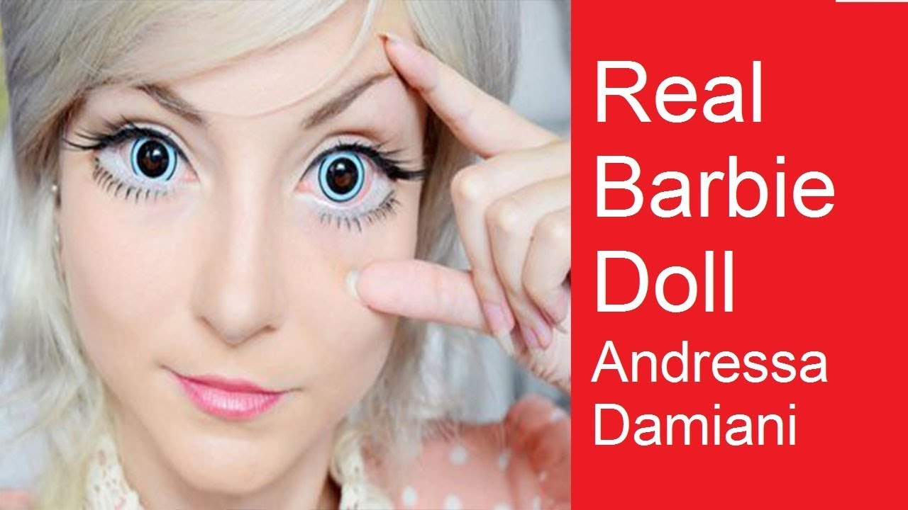 Barbie New Movies In Urdu: The Real Barbie Doll Andressa Damiani