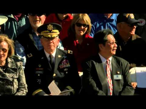 Cupertino Veterans Day Ceremony 2015
