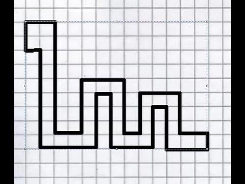 Как нарисовать змейку по клеточкам
