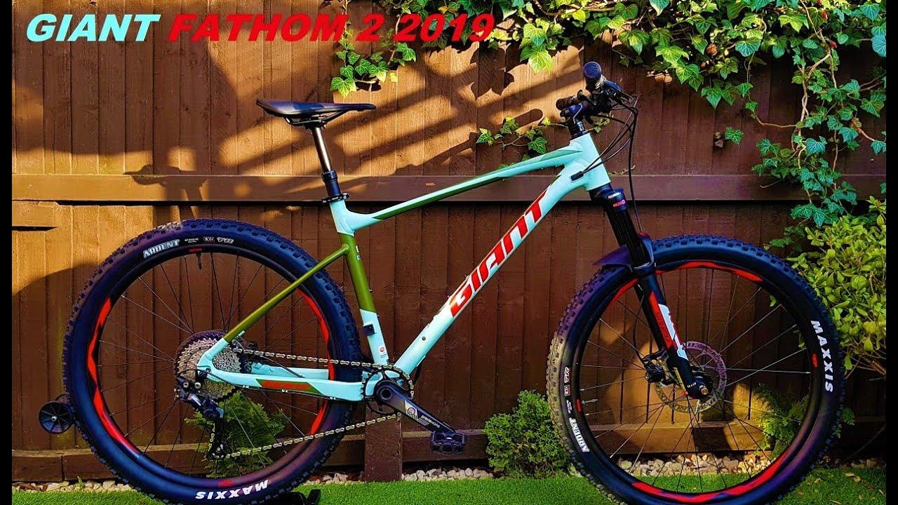 32a281f06dd Giant Fathom 2 2019 Mountain Bike - YouTube