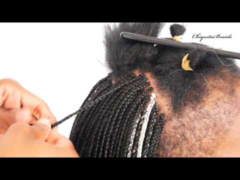 Parting your bob plats (how to) DIY