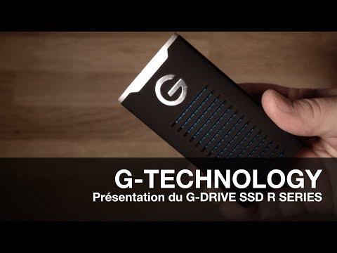 G-TECHNOLOGY: Présentation du G-Drive Mobile SSD R Series !