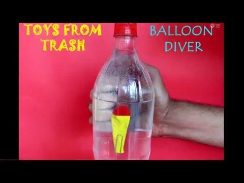 BALLOON DIVER - TAMIL - Simple Cartesian Diver!
