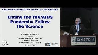 Dr. Anthony Fauci, Keynote Address, Einstein-Rockefeller-CUNY CFAR Symposium, 3 of 6