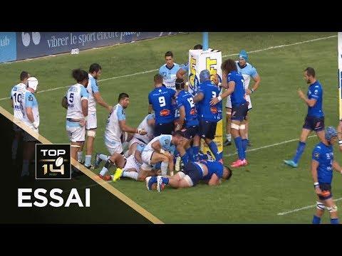 TOP 14 - Essai Thomas COMBEZOU (CO) - Bayonne - Castres - J4 - Saison 2019/2020