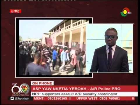 Police response to assault on Ashanti Region security coordinator -24/3/2017