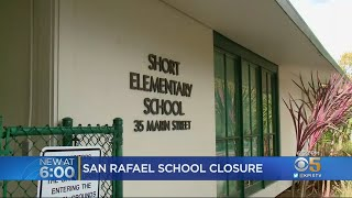 San Rafael School To Close Due To Low Enrollment Trend In Marin County