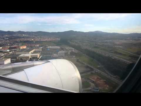 Landing in Sao Paulo/GRU from Madrid/MAD - Air Europa A330