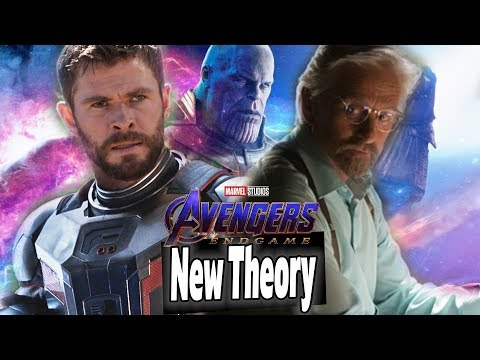 *NEW* Avengers Endgame Theory! Scott Lang Quantum Realm Travel With Hank Pym??