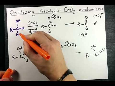 Oxidizing Alcohols With CrO3 Mechanism