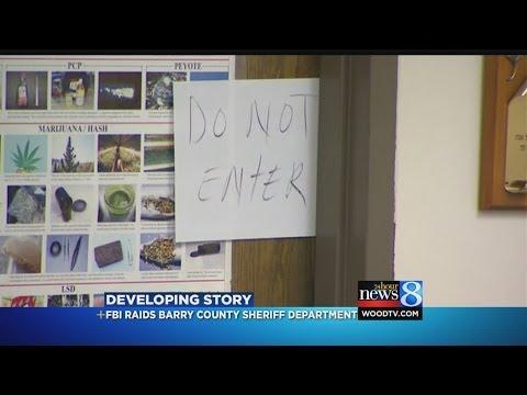 FBI raids Barry County Sheriff Department