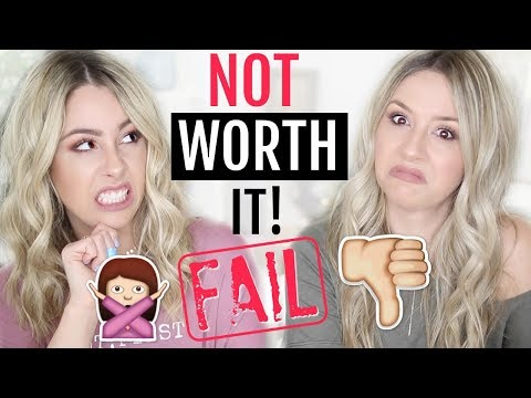Products I REGRET Buying!   NOT Worth the HYPE!