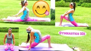 HOW TO GET YOUR SPLITS DOWN+GET YOUR SPLITS FAST! | Lydia The Gymnast