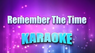 Jackson, Michael - Remember The Time (Karaoke & Lyrics)