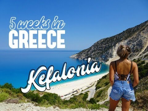 Travel Vlog 3 Greece | 5 WEEKS IN GREECE | Kefalonia