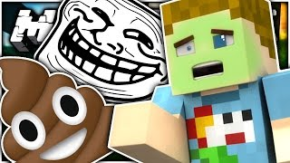 minecraft the poop troll   crundee craft
