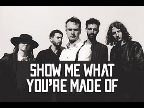 Show Me What You're Made Of - Aaron Buchanan And The Cult Classics