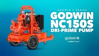 Outsmart water anytime, anywhere, with the Godwin NC150S Dri-Prime® Pump