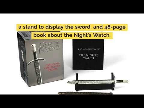game-of-thrones:-longclaw-collectible-sword