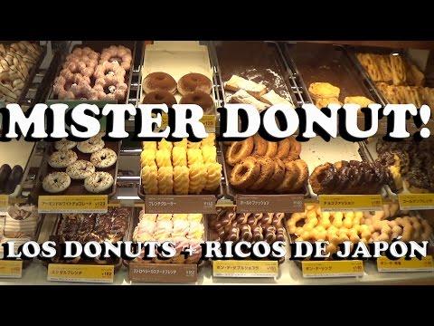 Mister Donut Japan Sweet Shop Akihabara Tokyo