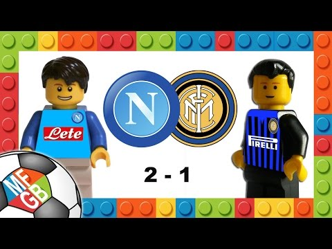 NAPOLI-INTER 2-1 - Lego Calcio Serie A 2015 - Goals Higuain E Ljajic - Highlights Sintesi 30/11/2015