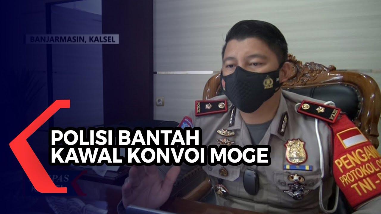 Download Polisi Bantah Kawal Rombongan Moge yang Viral Lintasi Jembatan Alalak