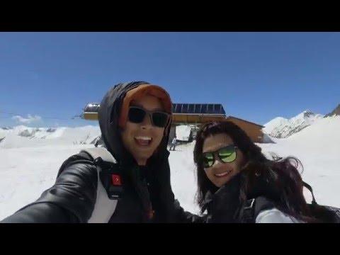 Gudauri Georgia Ski Resort | APRIL 2016 | DJI Osmo