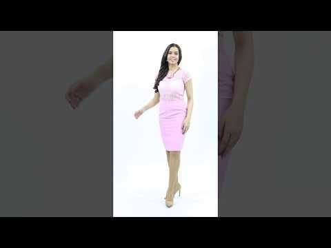Нежная блуза розового цвета